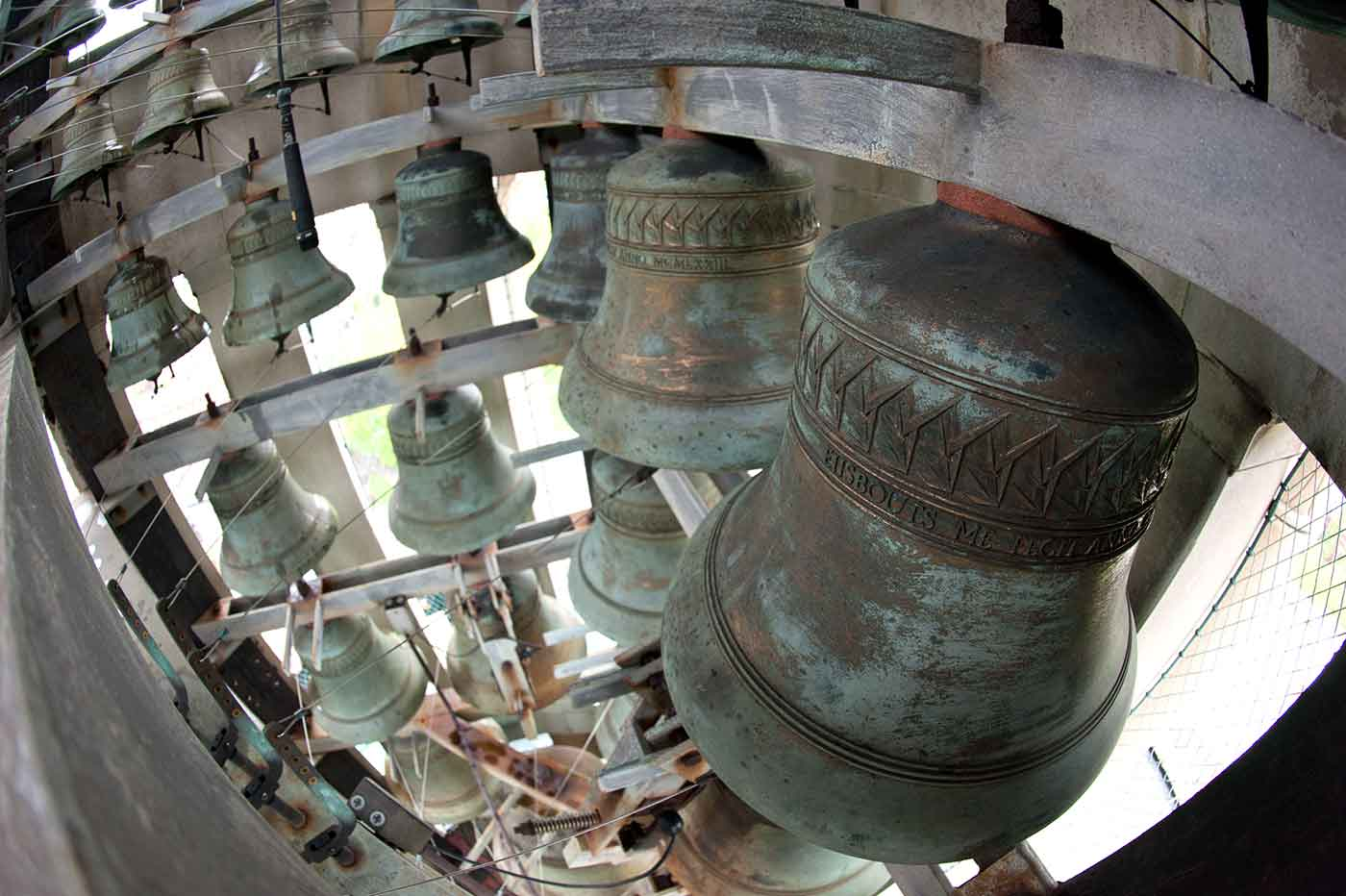 bells in tower