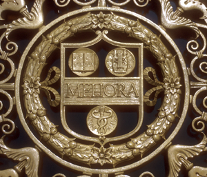 Meliora iron gate