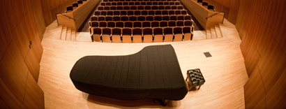 panoramic photo of Hatch Recital Hall