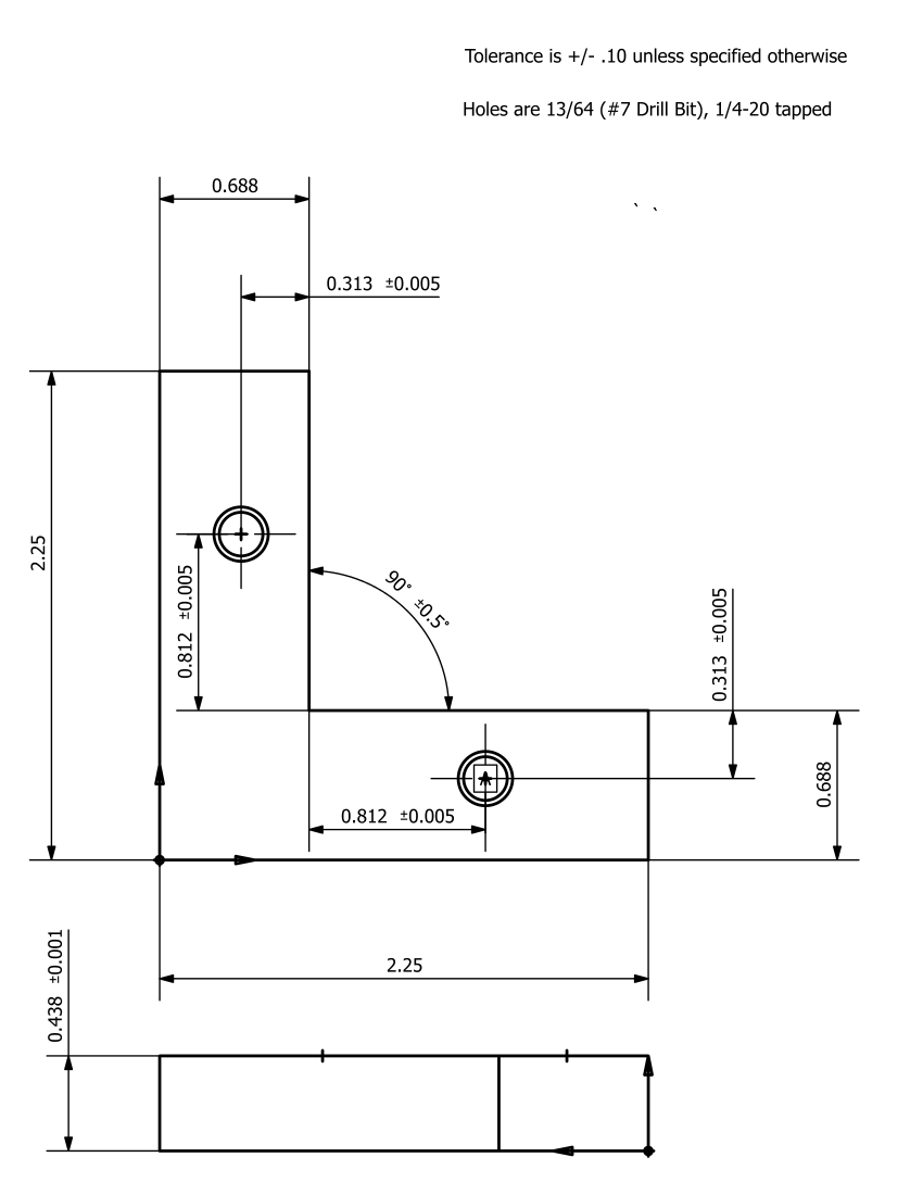How to create effective shop drawings the ur guide to fabrication drawing with length and angle dimension indications malvernweather Gallery