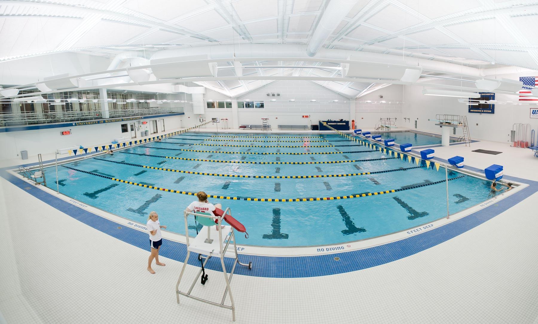 Speegle Wilbraham Aquatic Center Athletics And Recreation University Of Rochester