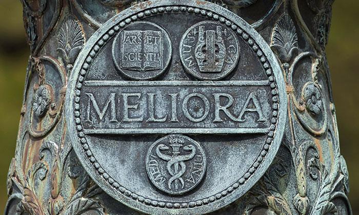 Meliora flagpole