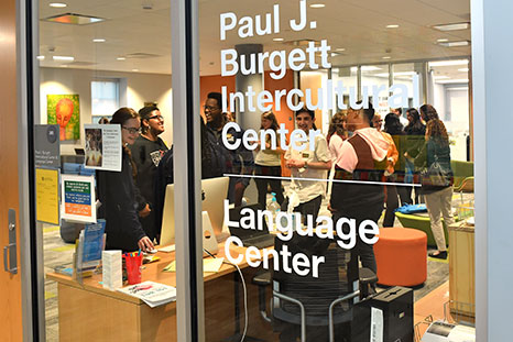Language Center event