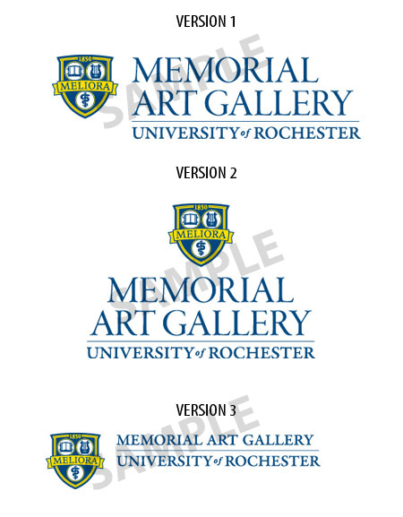 Memorial Art Gallery logo samples