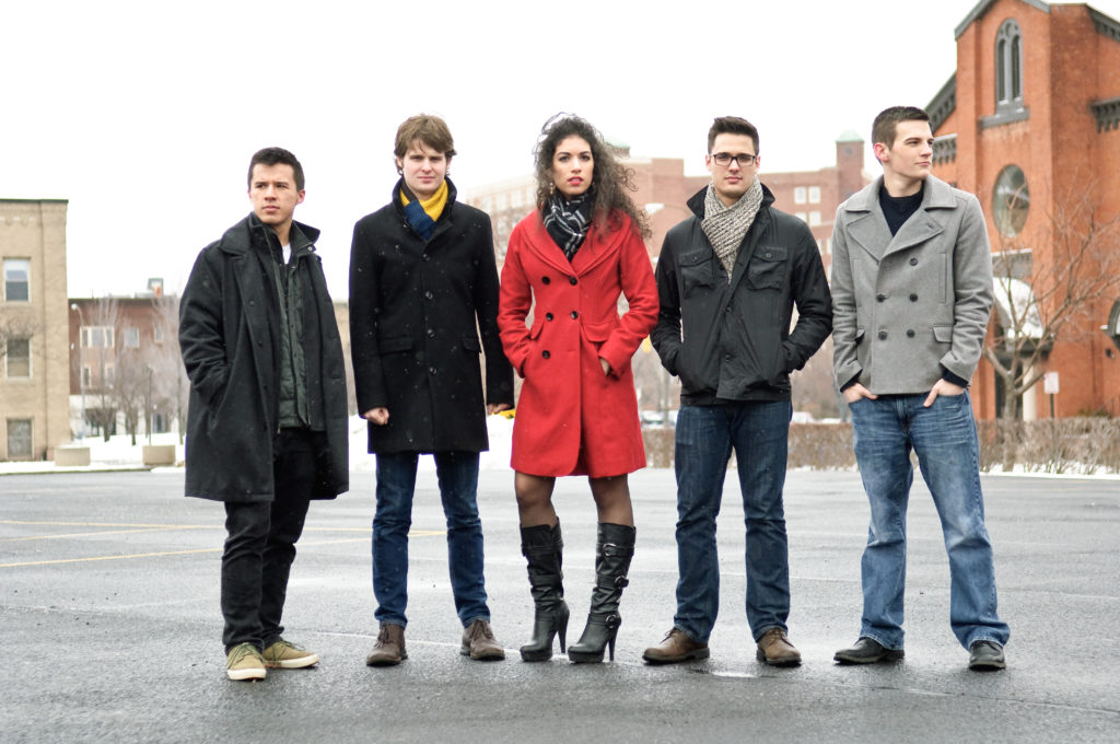 Grey Light—a rock band merging elements of pop, jazz, and classical music—met as students at the Eastman School. They'll perform free shows Sept. 20 and 25 at Java's as part of the Fringe Festival.