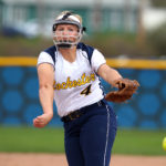 Brittany Grage '15 is one of seven starters returning to the Yellowjackets softball roster this spring.