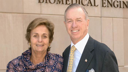 Pamela and Robert Goergen '60