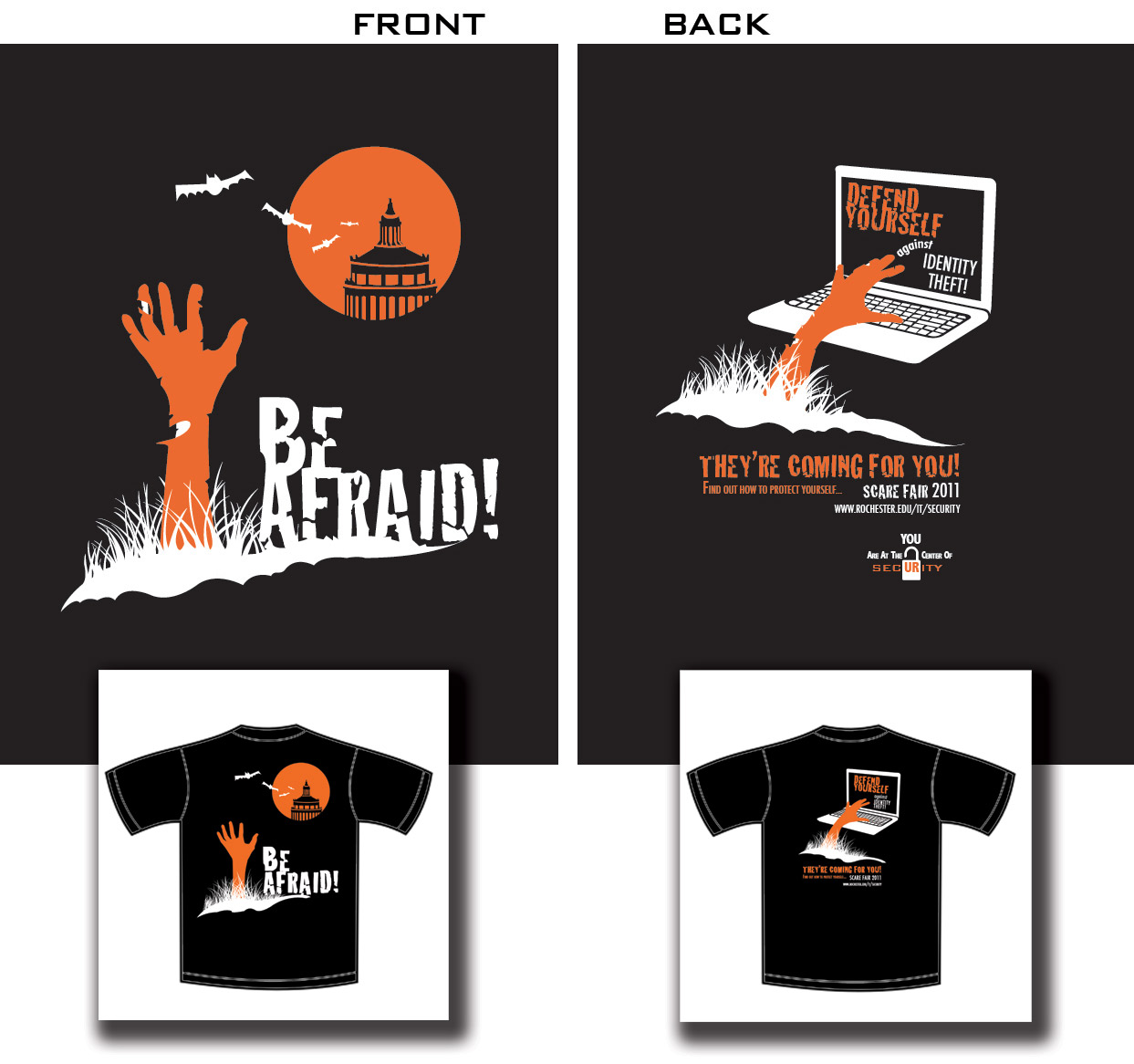 Cybersecurity awareness resource library higher ed for T shirt design programs for pc
