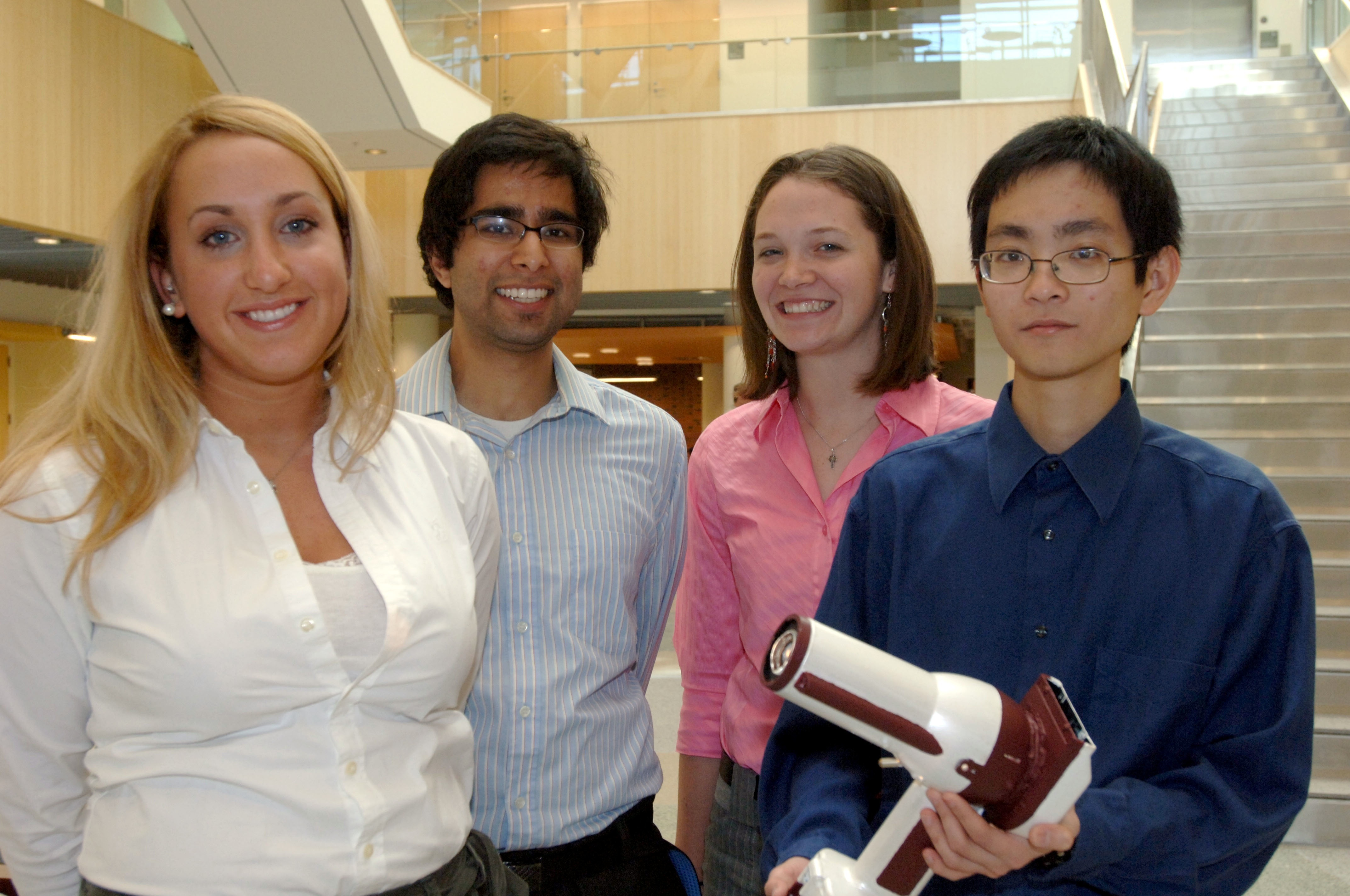 Biomedical Engineering subjects studied in high school