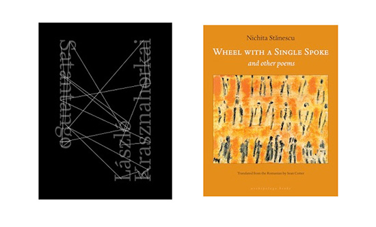 Krasznahorkai and stnescu win 2013 best translated book awards the best translated book awards for poetry and fiction were announced on friday may 3 with nichita stnescus wheel with single spoke translated from the ccuart Choice Image