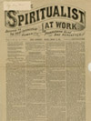 front page of Spiritualists at Work newspaper