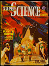 cover of a Super Science Stories comic book