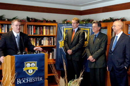 Rochester Promise news conference