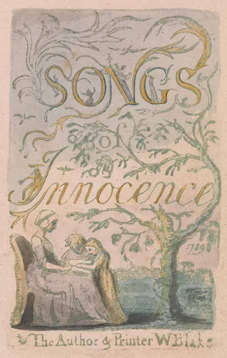 a literary analysis of the song of innocence and the songs of experience by blake