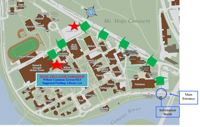 University of rochester map pdf free programs utilities for Location parking