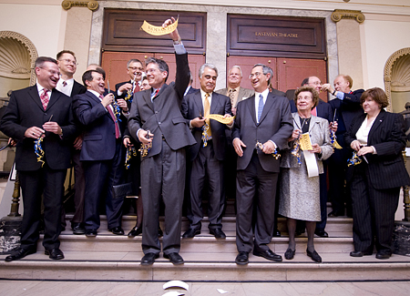 Kodak Hall Ribbon Cutting