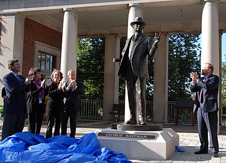 Eastman Statue