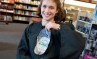 Students Don 'Green' Gowns