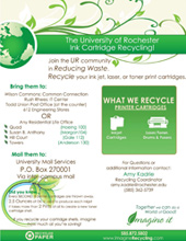 URMC ink recycling