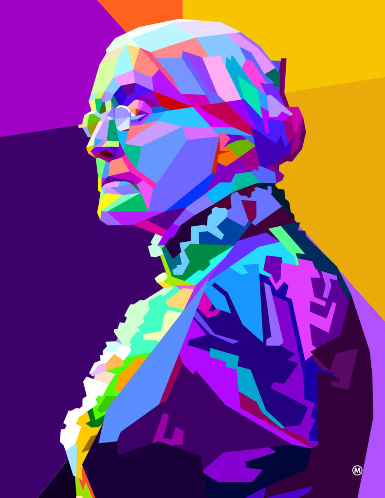 An illustration of Susan B. Anthony