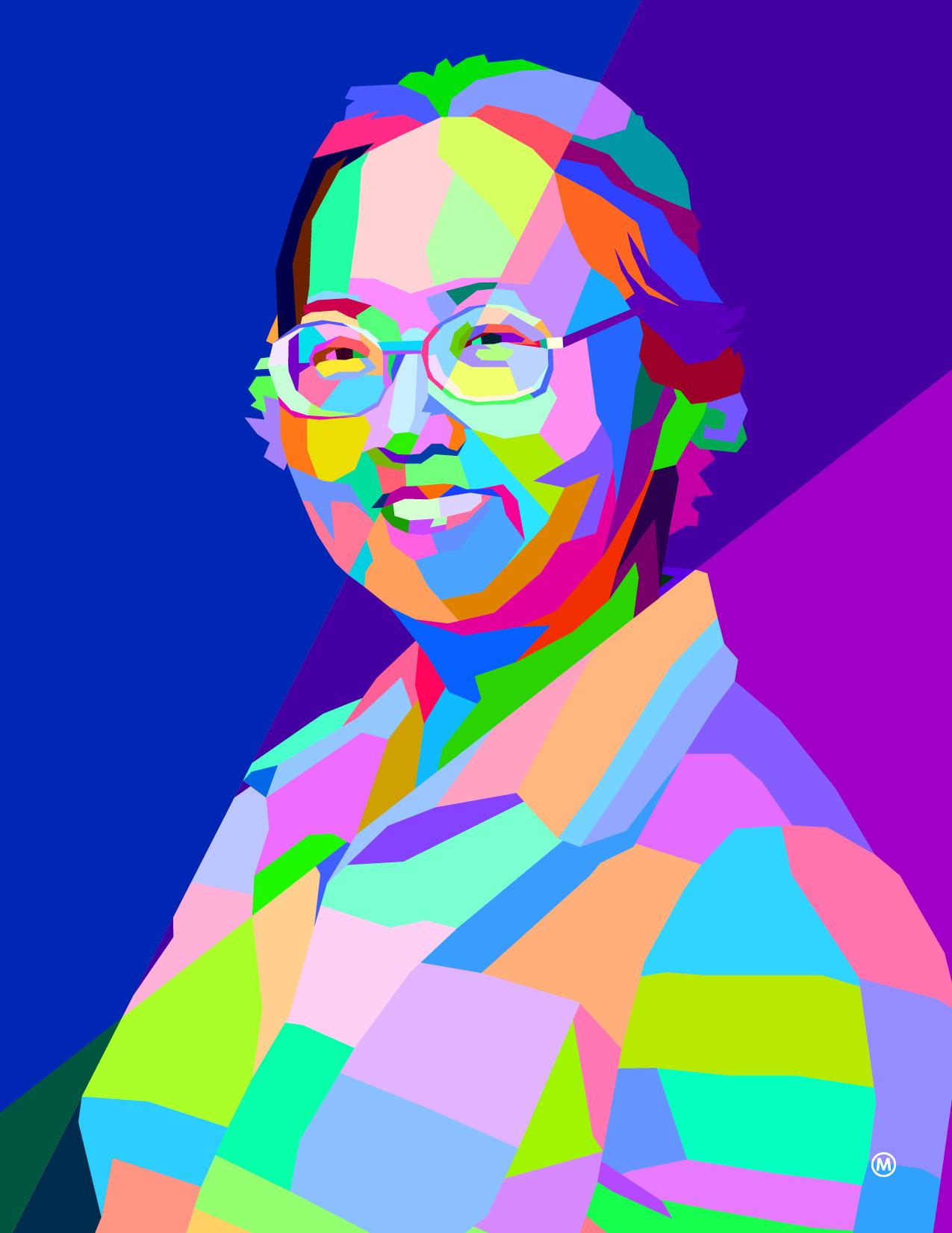 An illustration of Ruth Watanabe