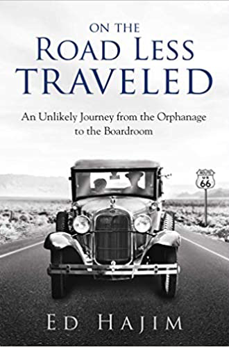 on the road less traveled: an unlikely journey from the orphanage to the boardroom - book cover