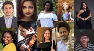 collage of student portraits