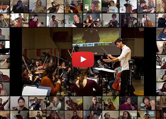 eastman performing across the globe through zoom