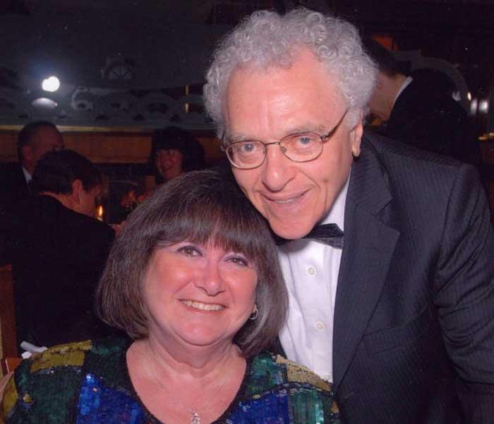 Dr. Sidney Sobel and his wife, Barbara Sobel