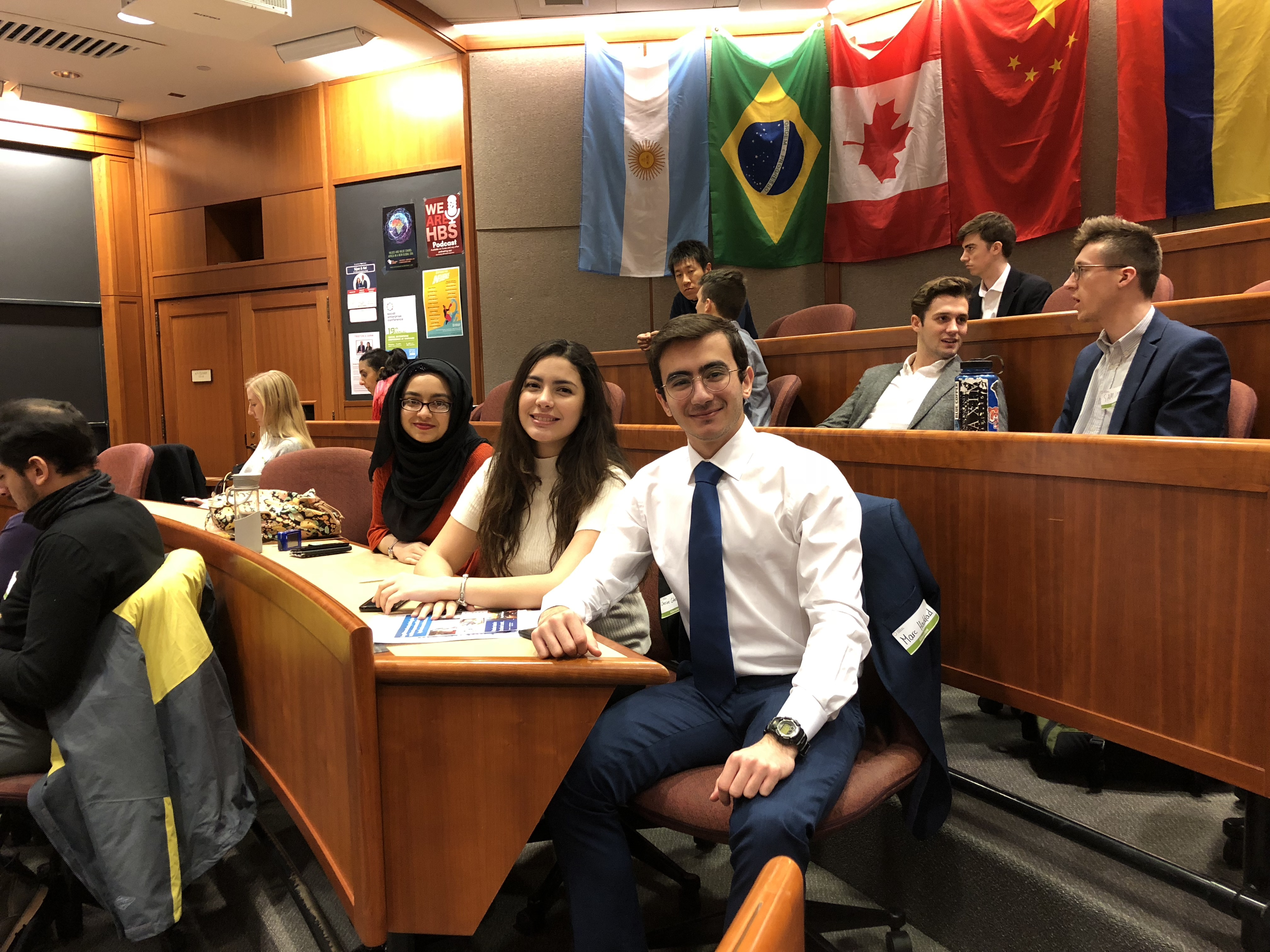 Members of Meliora LaunchPad at Harvard SECON