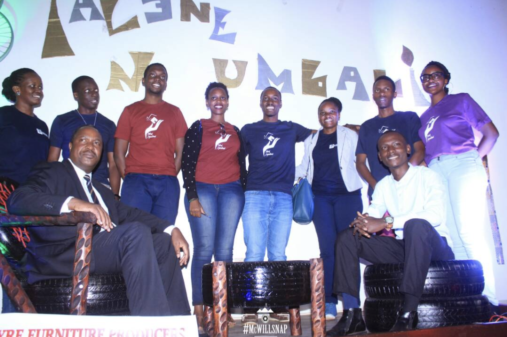 Dewey Bazirake and his Talent Nyumbani team
