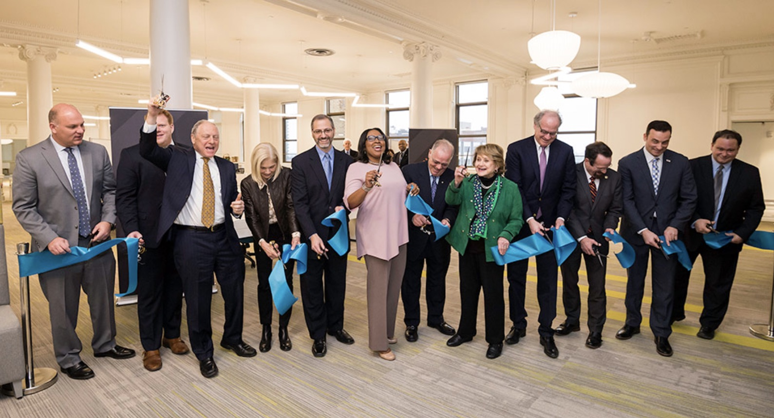 Ribbon-cutting ceremony at NextCorps