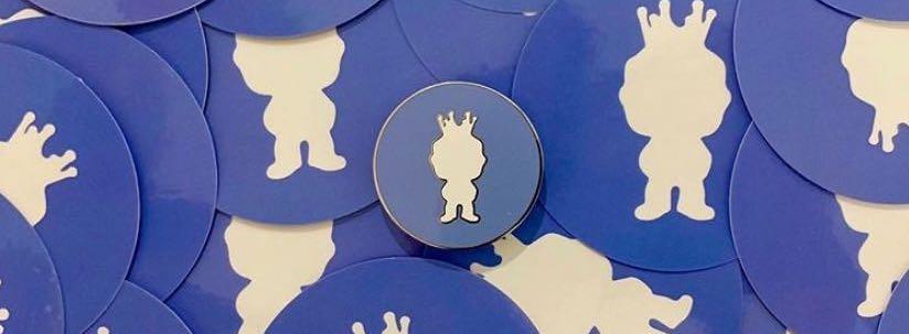 Michael Giardino's Funko Dojo stickers