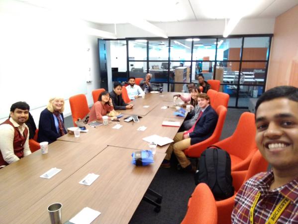 Startup Trek group in Boston