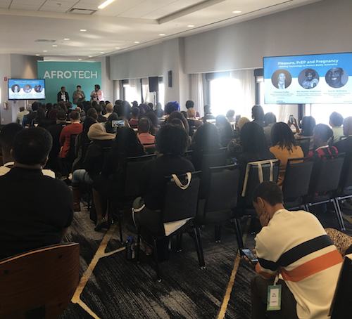 AfroTech breakout session hosted by Planned Parenthood