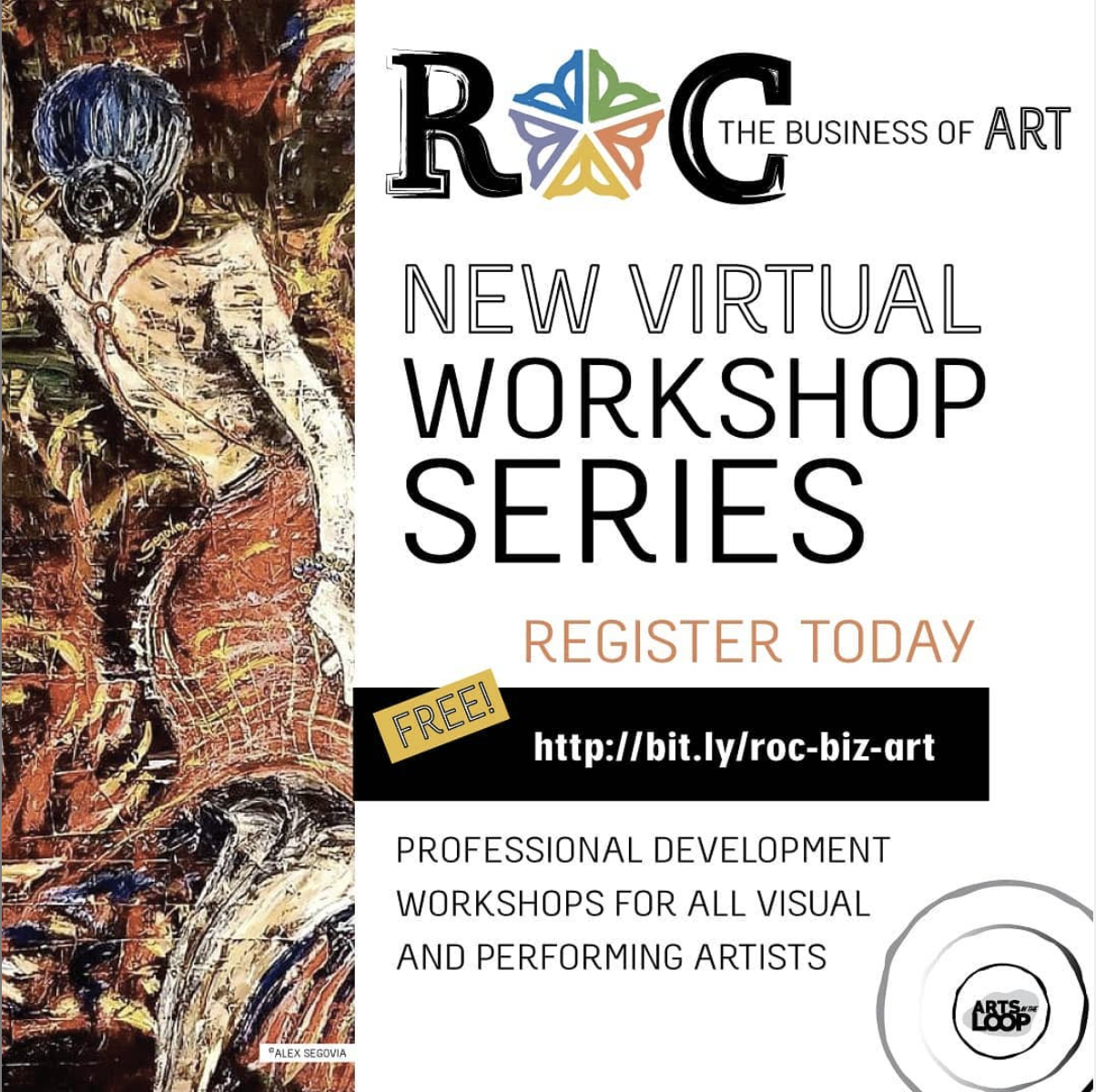 Roc the Business of Art flyer