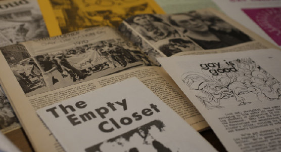 The Empty Closet archival newsletters