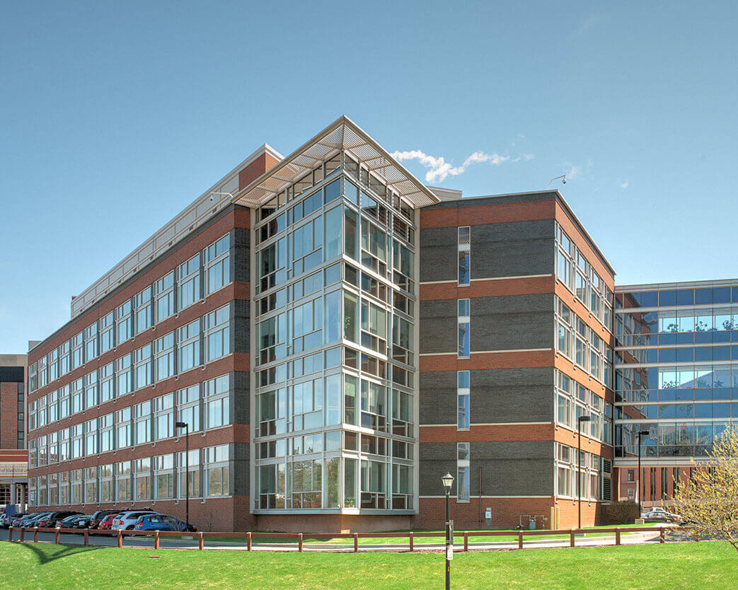 Exterior picture of University of Rochester Del Monte Institute for Neuroscience