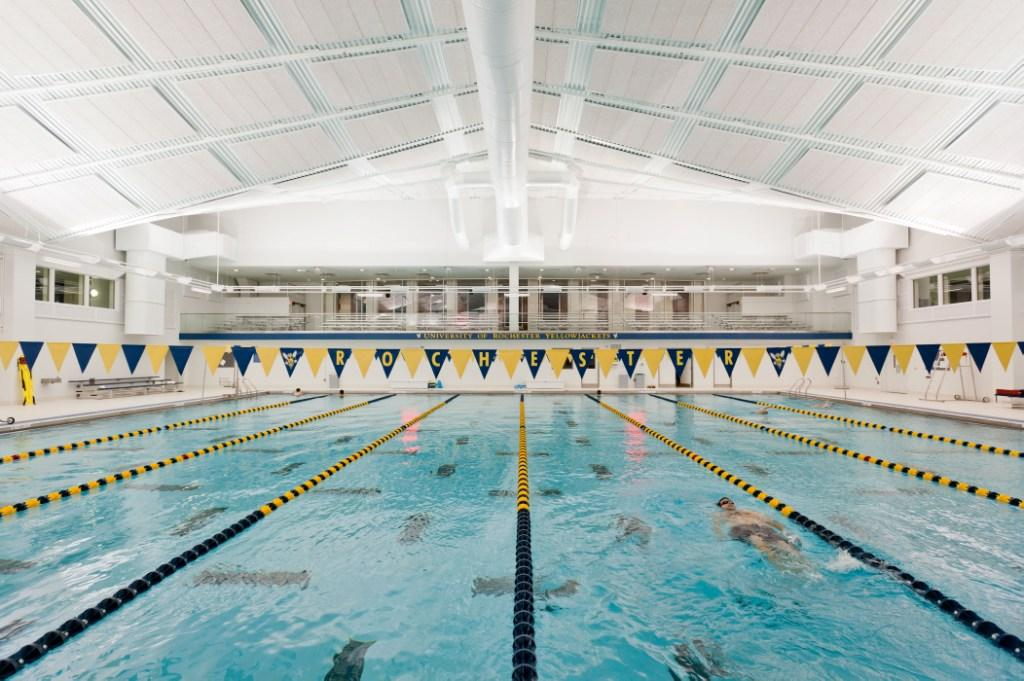 Speegle wilbraham aquatic center athletics and recreation university of rochester for Brooklyn college swimming pool membership