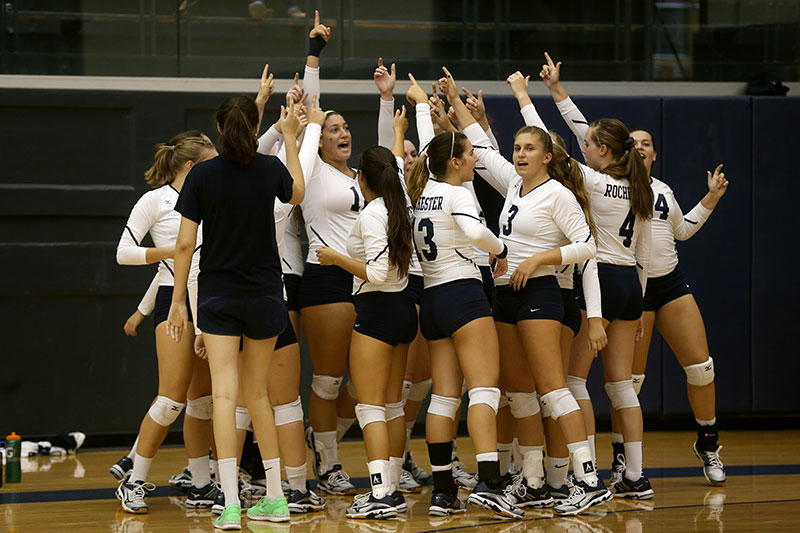 Volleyball Camps Athletics And Recreation University Of Rochester