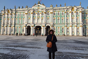 A student abroad in Russia