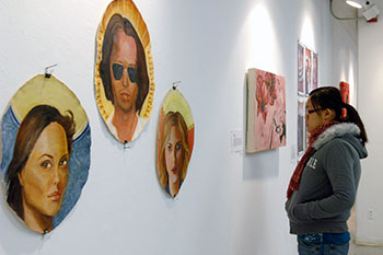 (En)Gendered: Identity, Gender, and Art a juried student exhibit sponsored by the Susan B. Anthony Institute for Gender and Women's Studies.