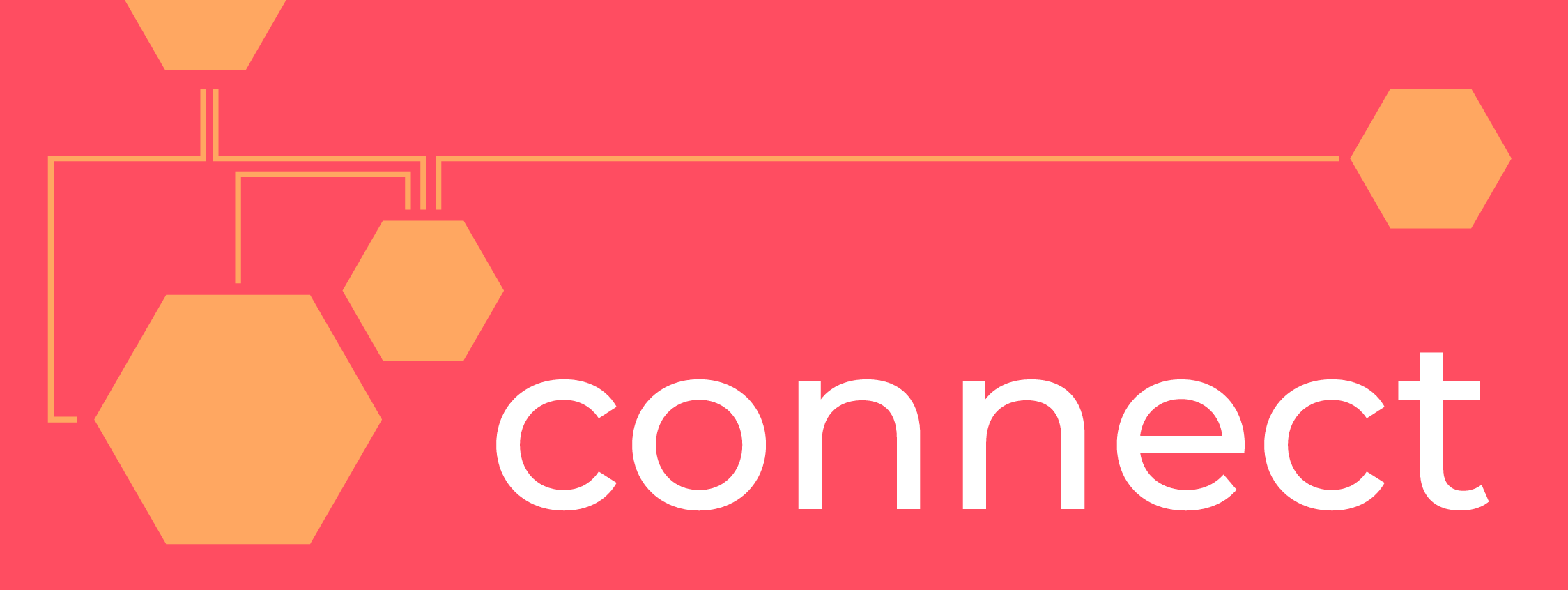 "Stylized text that reads ""Connect"""