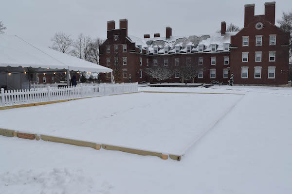 Wilson commons ice rink