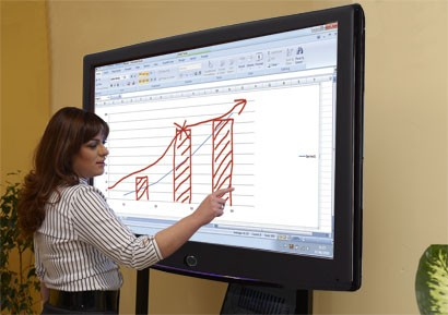 Photo of a Smartboard