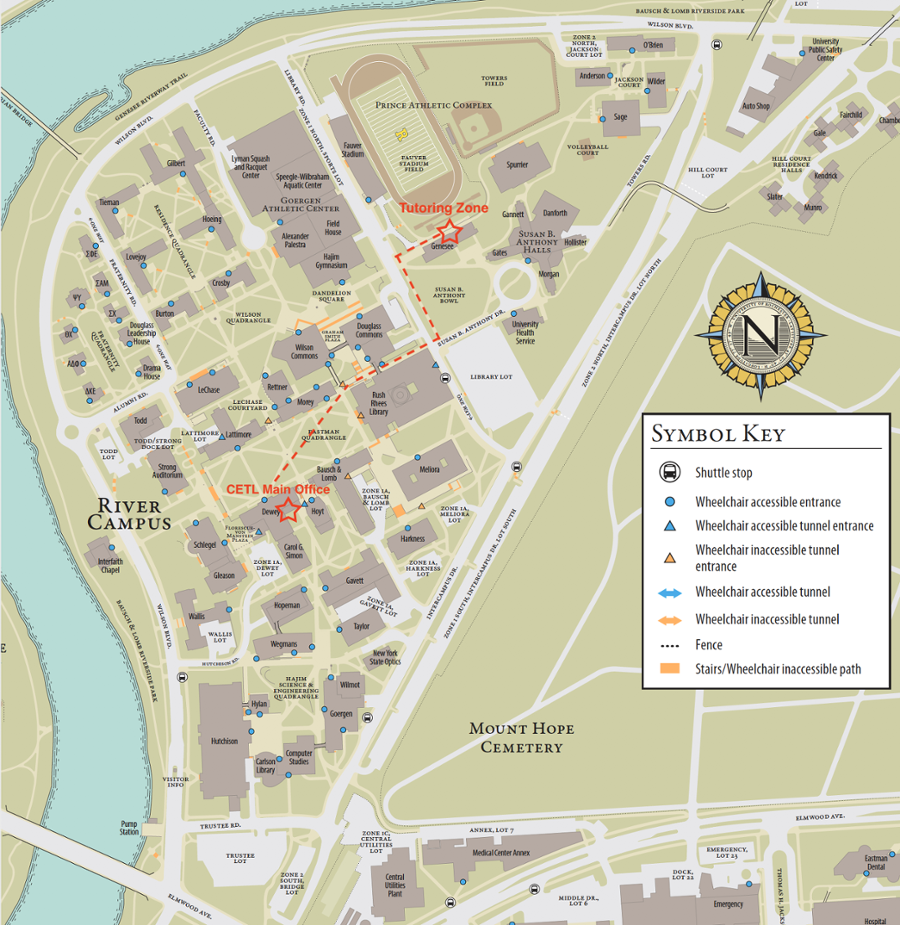 university of rochester campus map pdf Tutoring Center For Excellence In Teaching And Learning university of rochester campus map pdf