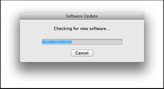Updating a mac os