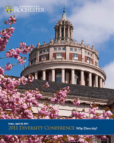 conference program cover reads 2011 DIVERSITY CONFERENCE