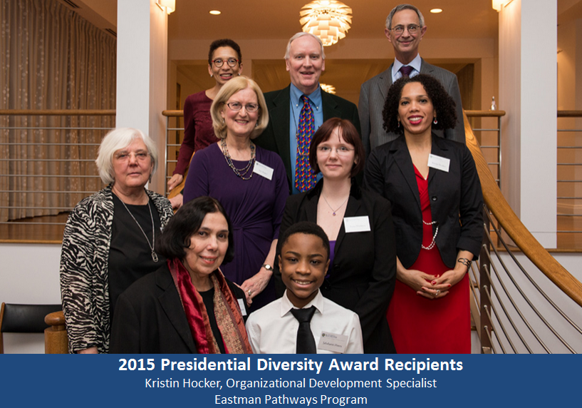winners of 2015 presidential diversity awards