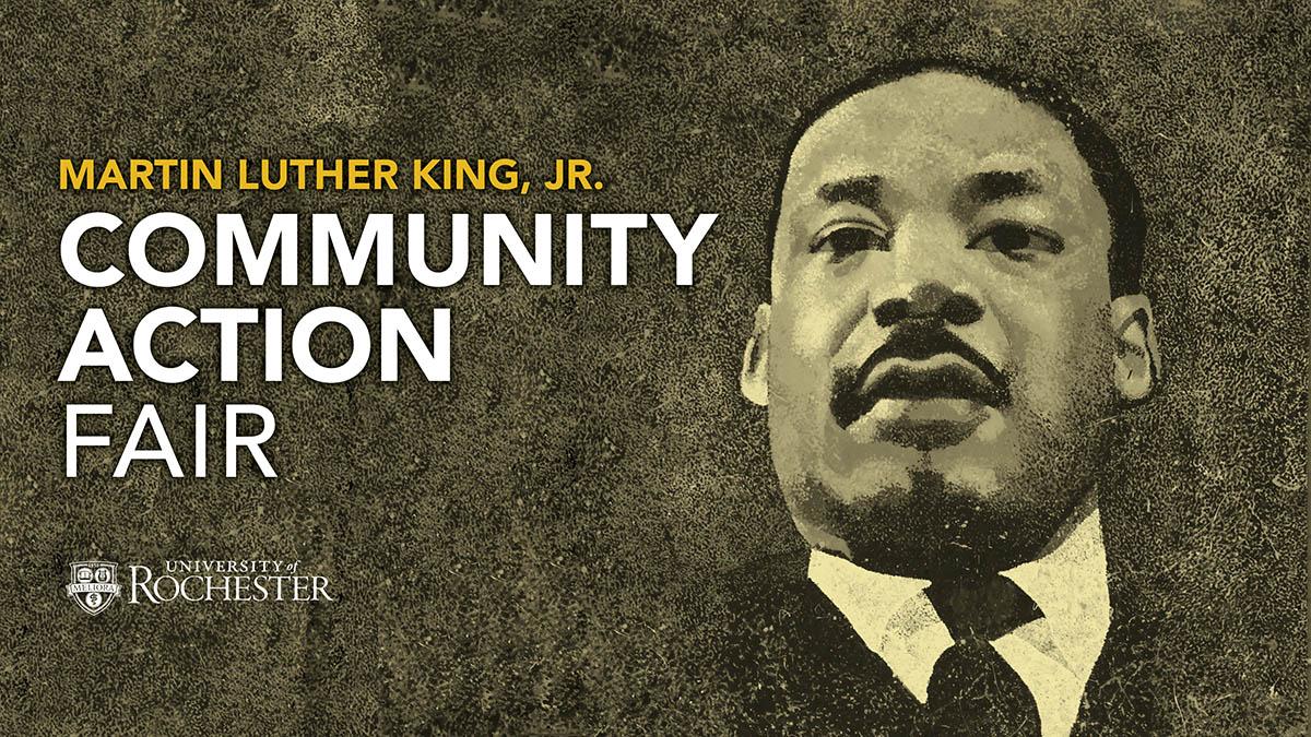 MLK Community Action Fair Poster